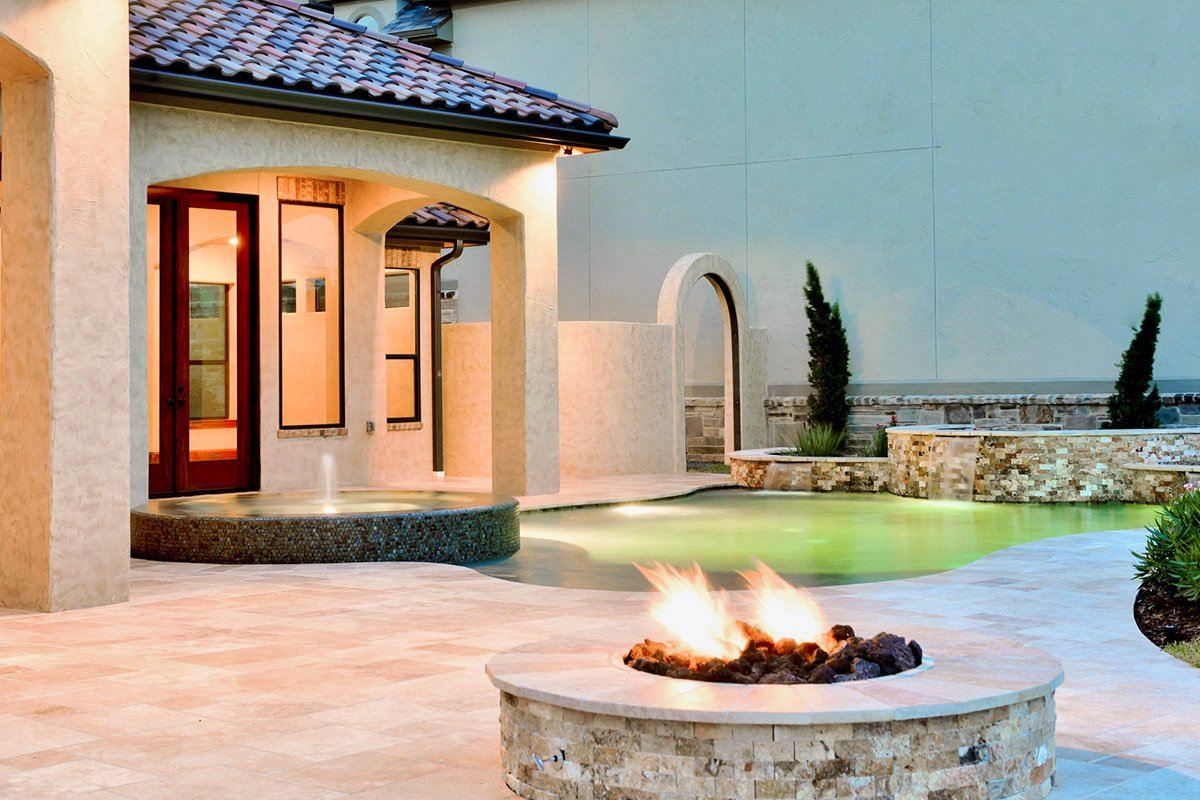 11N-5610CV-Pool-Fountain-Fire