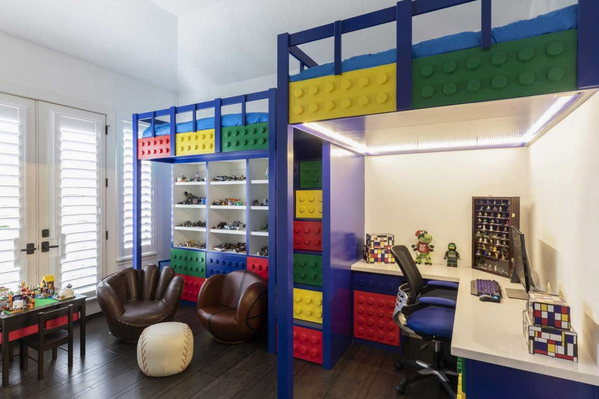 2 Lego Room Bunk Beds