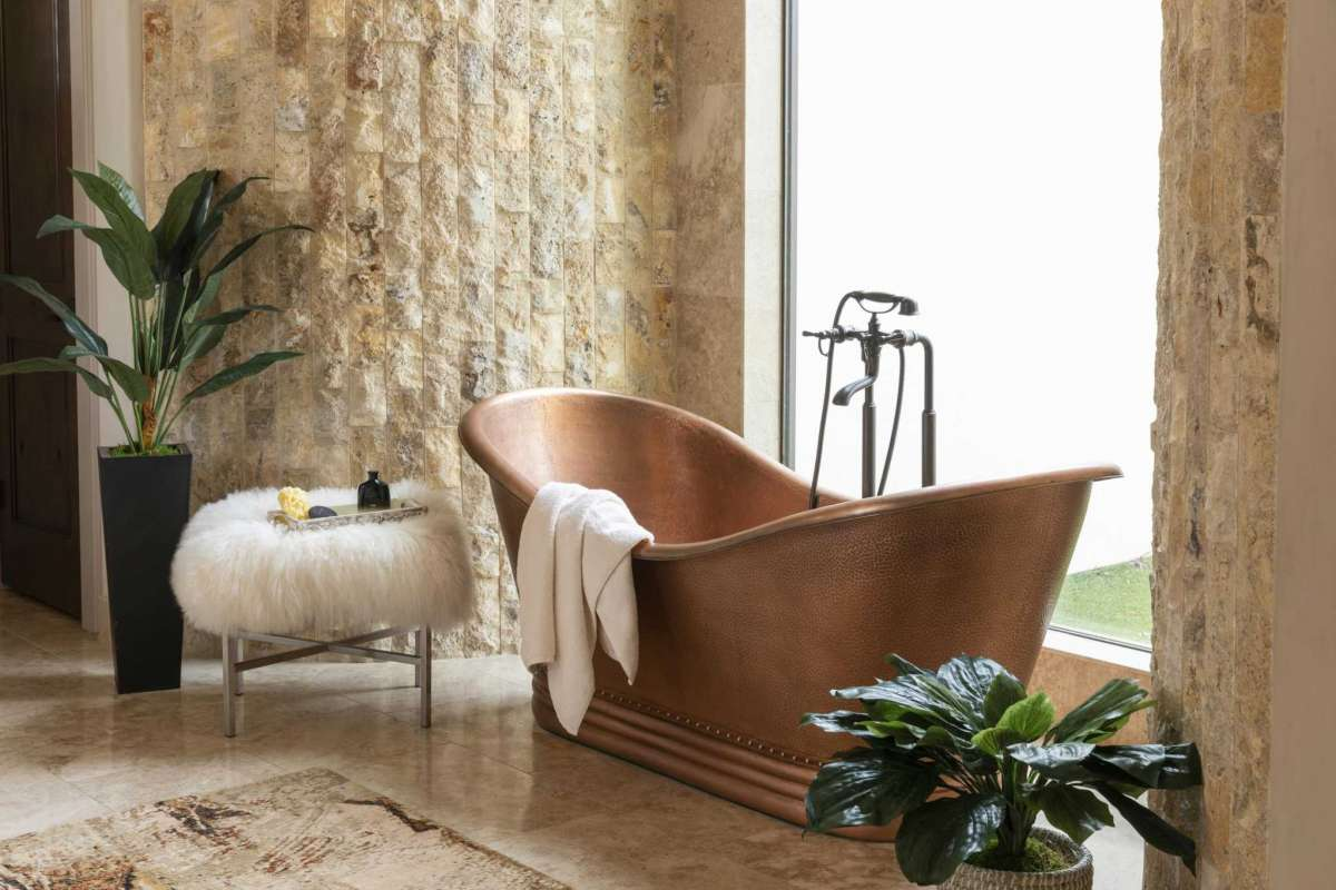 8 Copper Tub